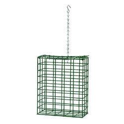 Heath  Wild Bird  Metal  Suet  Bird Feeder  2 ports