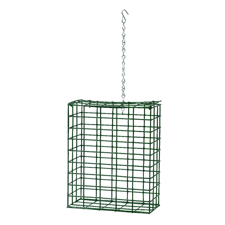 heath wild bird metal large suet basket