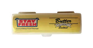 Stay Fresh  4 oz. Butter Container  1 pk