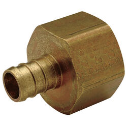 SharkBite  1/2 in. PEX   x 1/2 in. Dia. FPT  Brass  Female Adapter