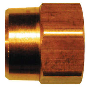 JMF  Brass  Hose Adapter  1/2 in. Dia. x 3/4 in. Dia. Yellow