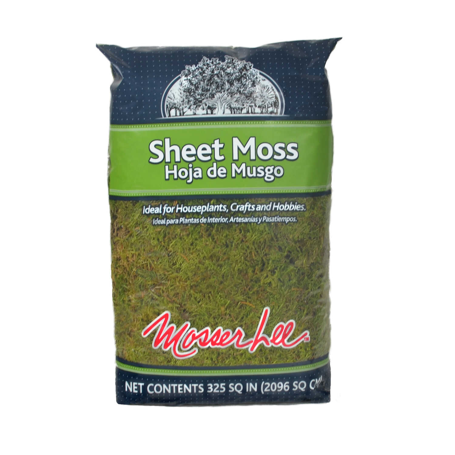 Mosser Lee  Organic Sheet Moss  325 cu. in.