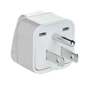Travel Smart  Type B  For Worldwide Adapter Plug In