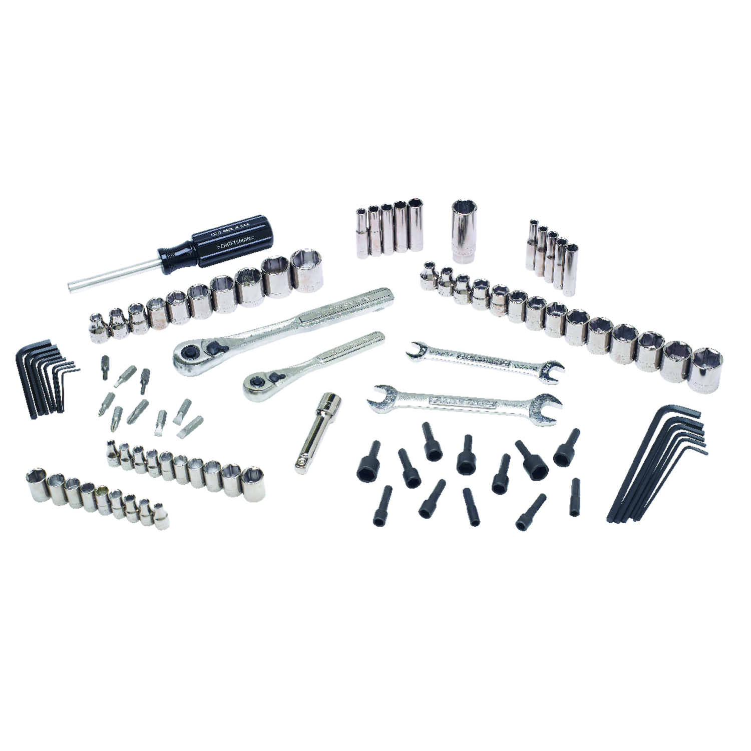 Craftsman  1/4 in.  x 1/4 in. drive  Metric  6 Point Mechanic�s Tool Set  95 pc.