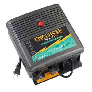 Dare Products  Enforcer  110 volt Electric-Powered  Fence Energizer  150 acres  Black