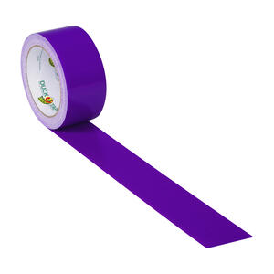 Duck  1.88 in. W x 20 yd. L Purple  Solid  Duct Tape