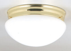 Westinghouse 4-3/4 in. H x 8-7/8 in. W x 8-7/8 in. L Ceiling Light