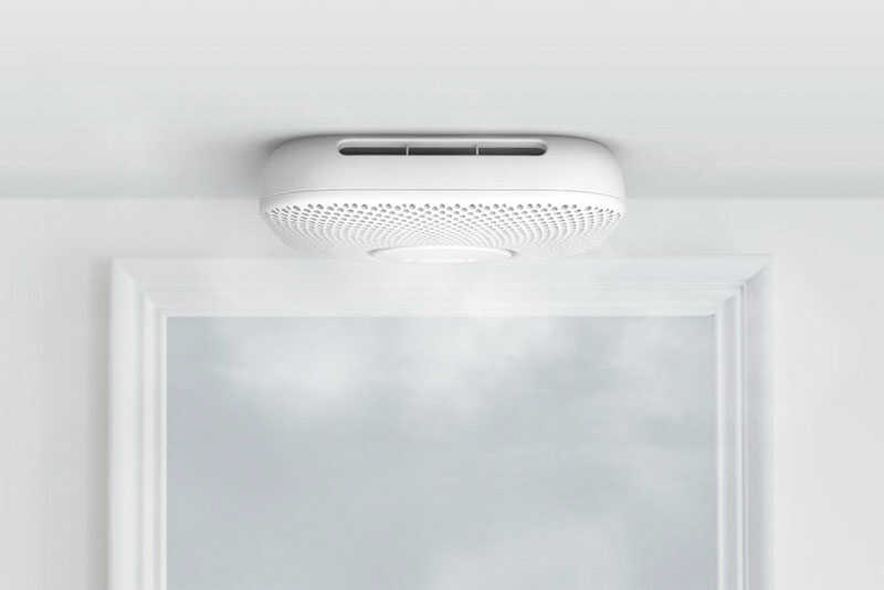 Google  Nest  Battery-Powered  Split-Spectrum  Smoke and Carbon Monoxide Detector w/Wi-Fi