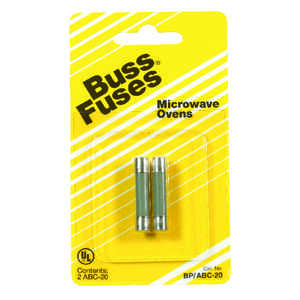 Bussmann  20 amps 250 volts Ceramic  Fast Acting Fuse  2 pk