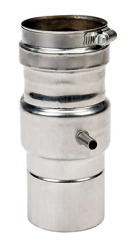 Bosch  Stainless Steel  Tankless  Horizontal Drain Pipe  3 in.