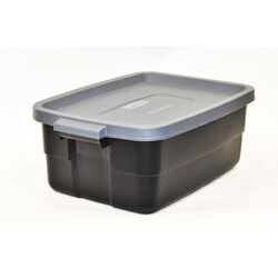 Rubbermaid  Roughneck  8.7 in. H x 15.9 in. W x 23.875 in. D Stackable Storage Box