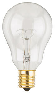 Westinghouse  40 watts A15  A-Line  Incandescent Bulb  E17 (Intermediate)  White  2 pk