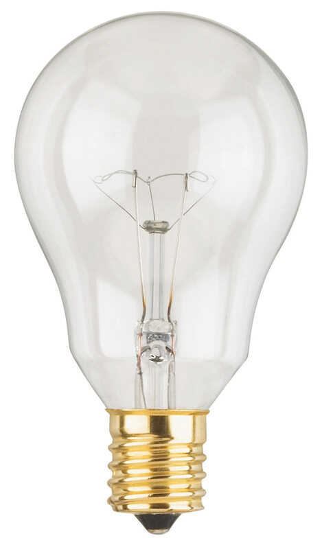 Westinghouse  40 watts A15  Incandescent Bulb  350 lumens White  A-Line  2 pk