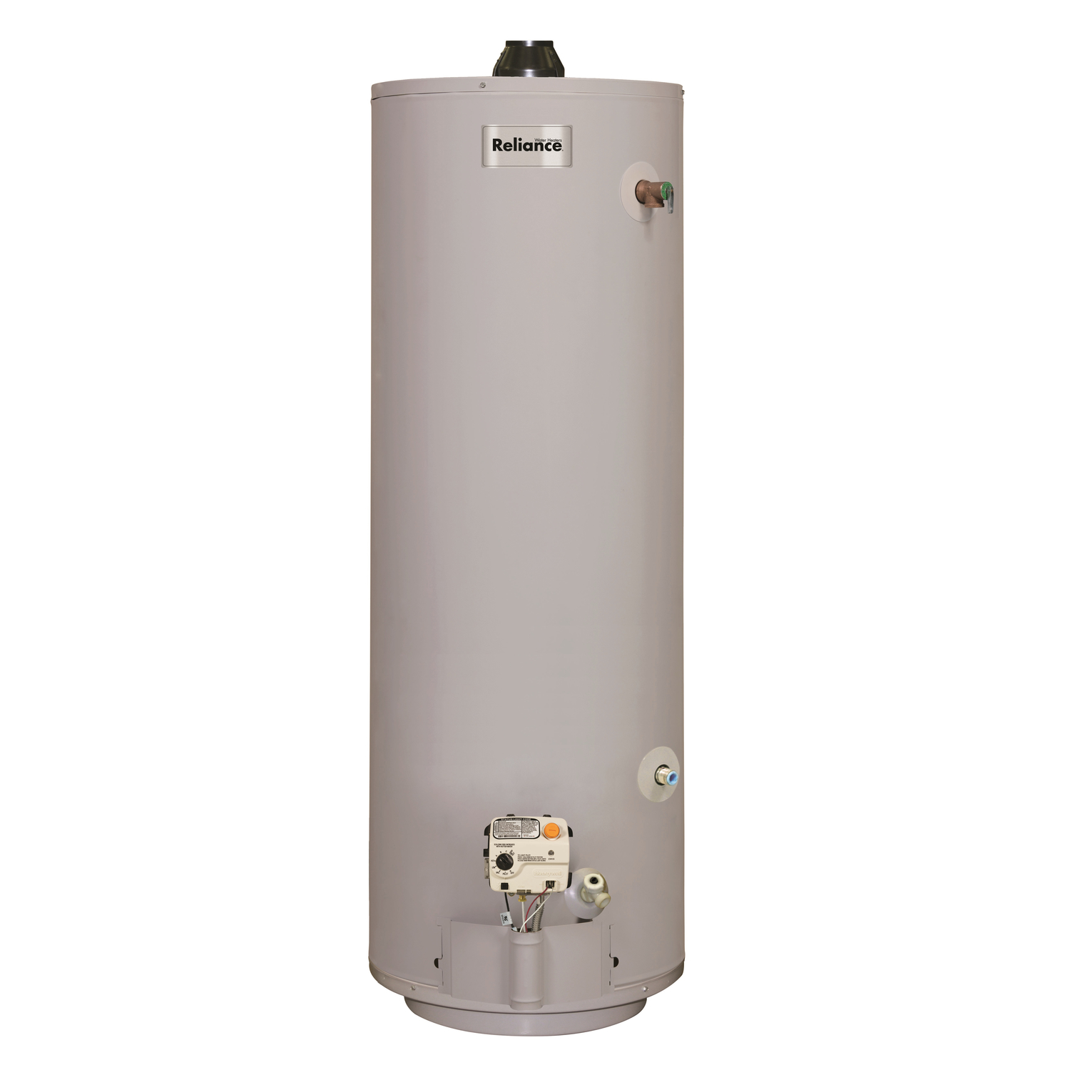 Reliance  Natural Gas/Propane  Mobile Home Water Heater  58 in. H x 18 in. L x 18 in. W 30 gal.