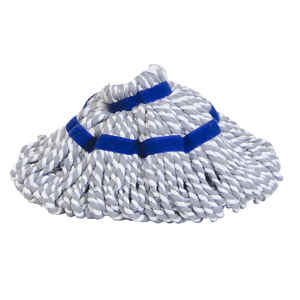 Quickie  15.6 in. L Microfiber/Chenille  MicroTwist Mop Refill  1 pk