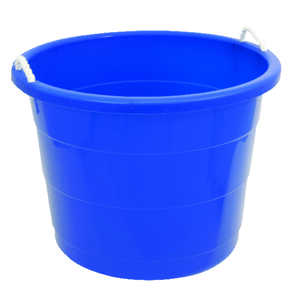 Homz  17  Bucket  Blue