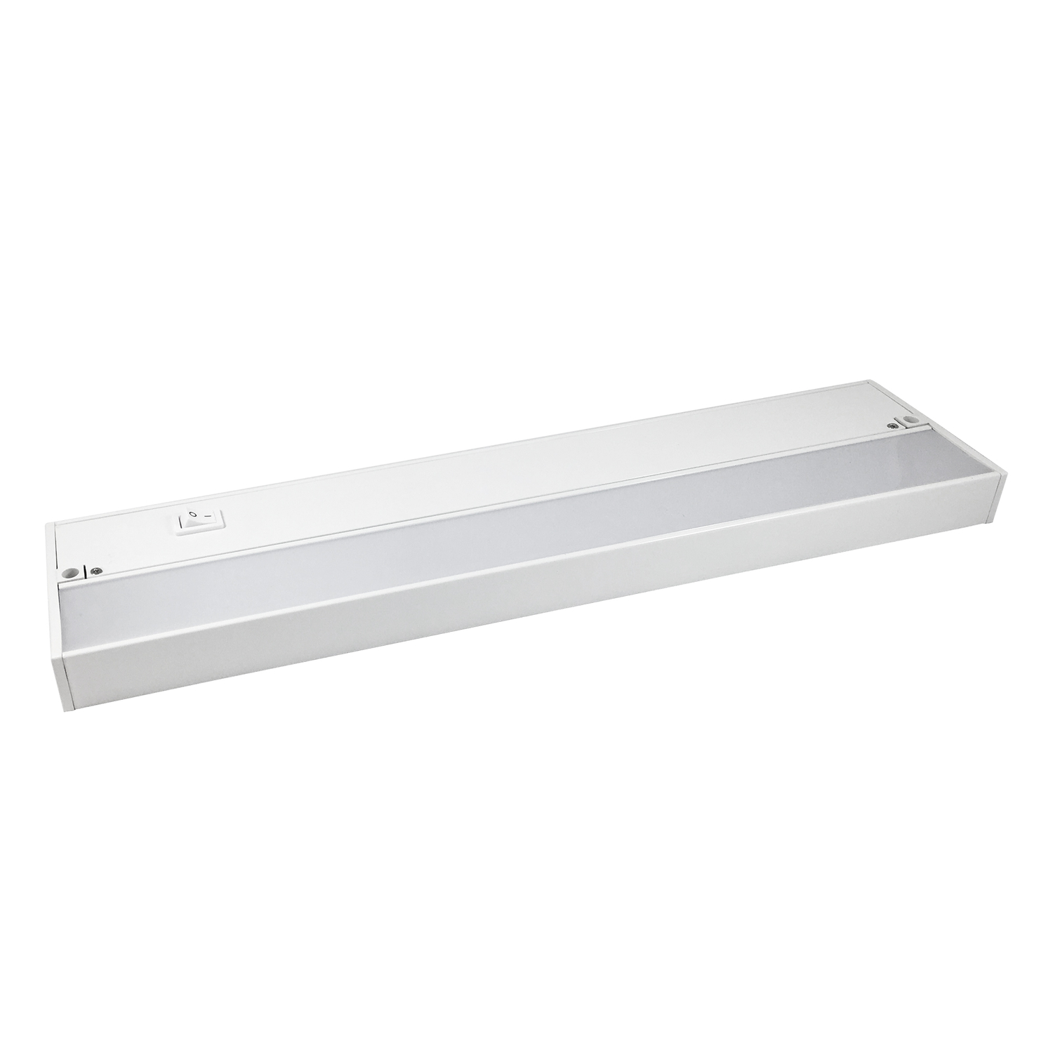Amertac  Kern Collection  12 in. L White  LED  Plug-In  220  Under Cabinet Light Strip