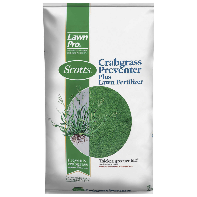 Scotts Lawn Pro 26 0 3 Crabgrass Preventer With Fertilizer