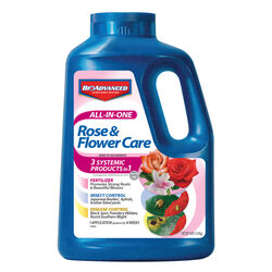 BioAdvanced  All-In-One Rose & Flower Care  Granules  Plant Food  4 lb.