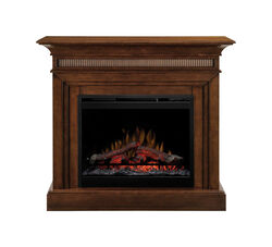 Dimplex  43.8 in. W 400 sq. ft. Walnut  Traditional  Electric Fireplace