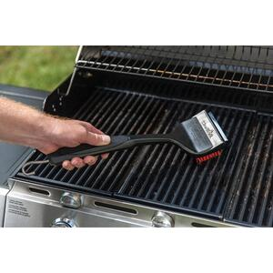 Char-Broil  Cool-Clean  Polypropylene  Grill Brush with Scraper
