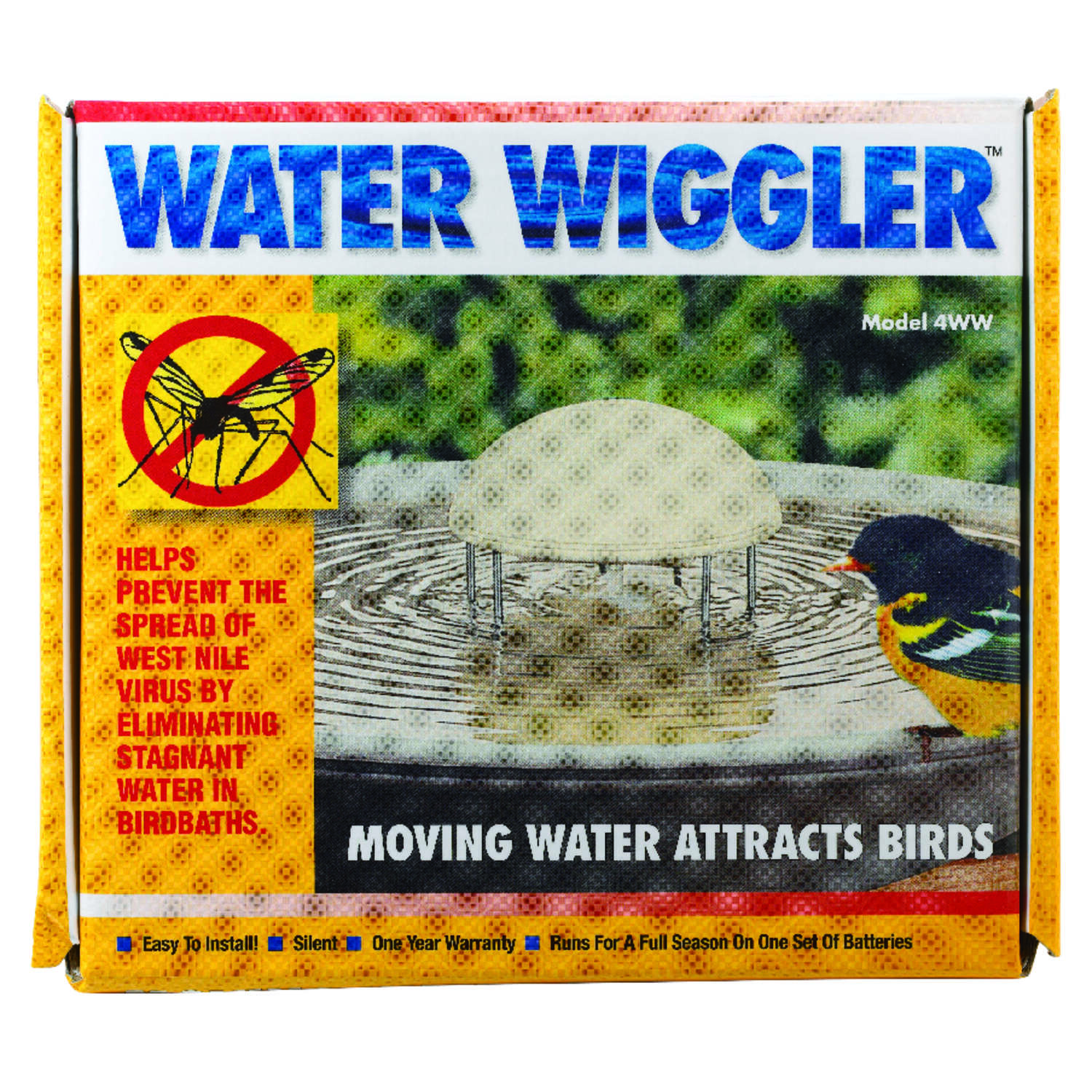 API  5.5 in. H x 5.5 in. W x 3 in. D Water Agitator