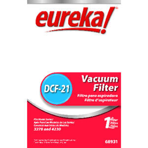 Eureka  Vacuum Filter  For Vacuum filter 1 pk