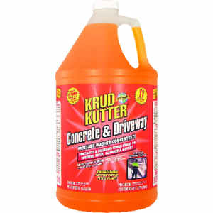 Krud Kutter  Concrete and Driveway Pressure Washer Concentrates  1 gal. Liquid