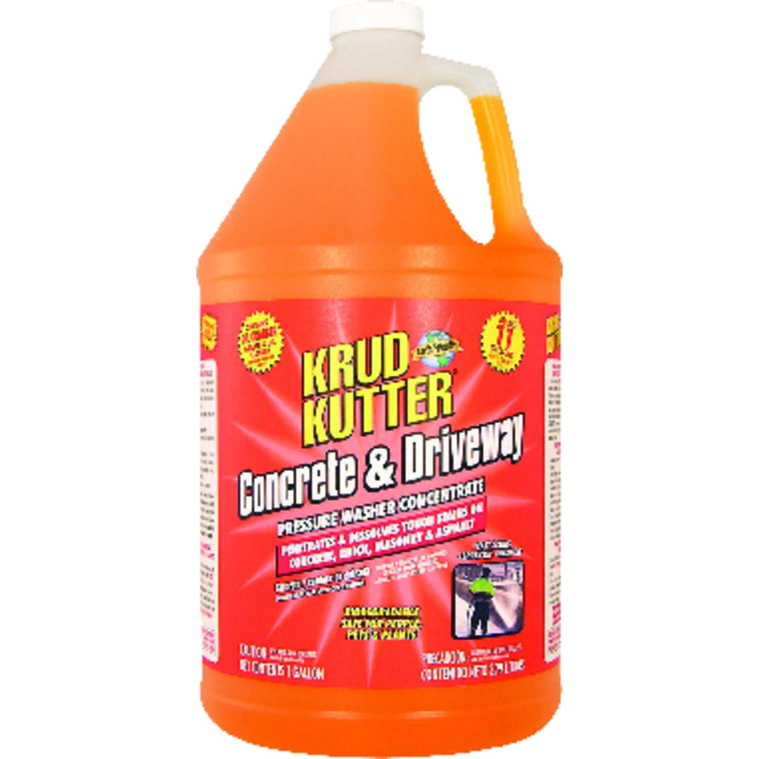 Krud Kutter  Concrete and Driveway Pressure Washer Concentrates  1 oz. Liquid