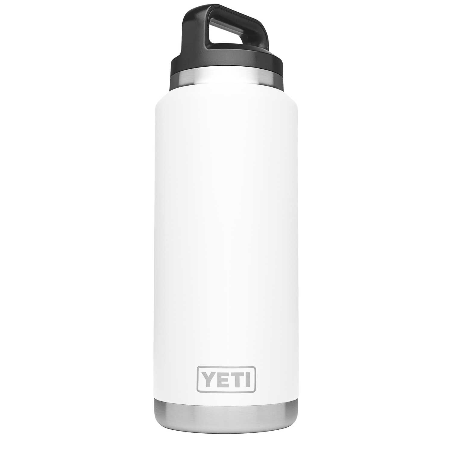 YETI  Rambler  White  Stainless Steel  BPA Free 36 oz. Beverage Bottle