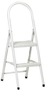 Apex  19.5 in. H x 12 in. W Steel  Ladder  200 lb. Type III