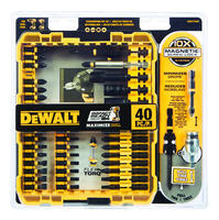 Deals on 40-Pc DeWalt DWA2T40IR Impact Ready Size in. x 3/8 in. L Screwdriver Bit