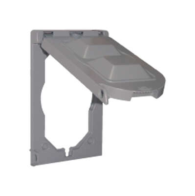Sigma Electric Rectangle Plastic 1 gang Multi-Use Cover For Wet Locations