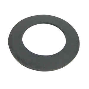 Danco  Rubber  1-7/8 inch  Dia. x 3 inch  Dia. Bath Shoe Gasket