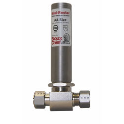 Sioux Chief MiniRester 3/8 in. Compression x 3/8 in. Dia. Compression Brass Water Hammer Arres