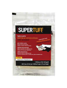 Trimaco  SuperTuff  18 in. L x 36 in. W Cotton  Tack Cloth