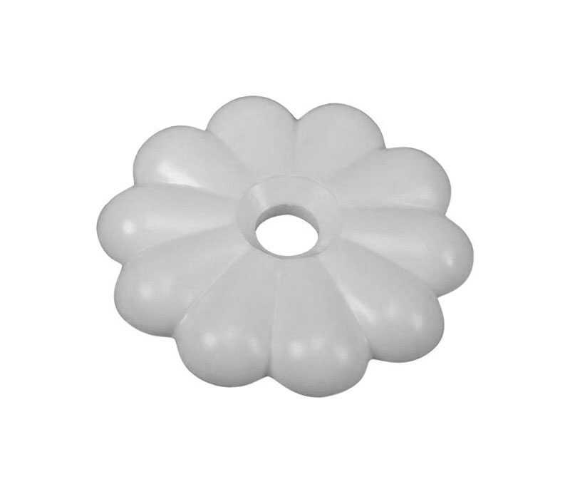 US Hardware  RV Rosette Buttons  1 pk