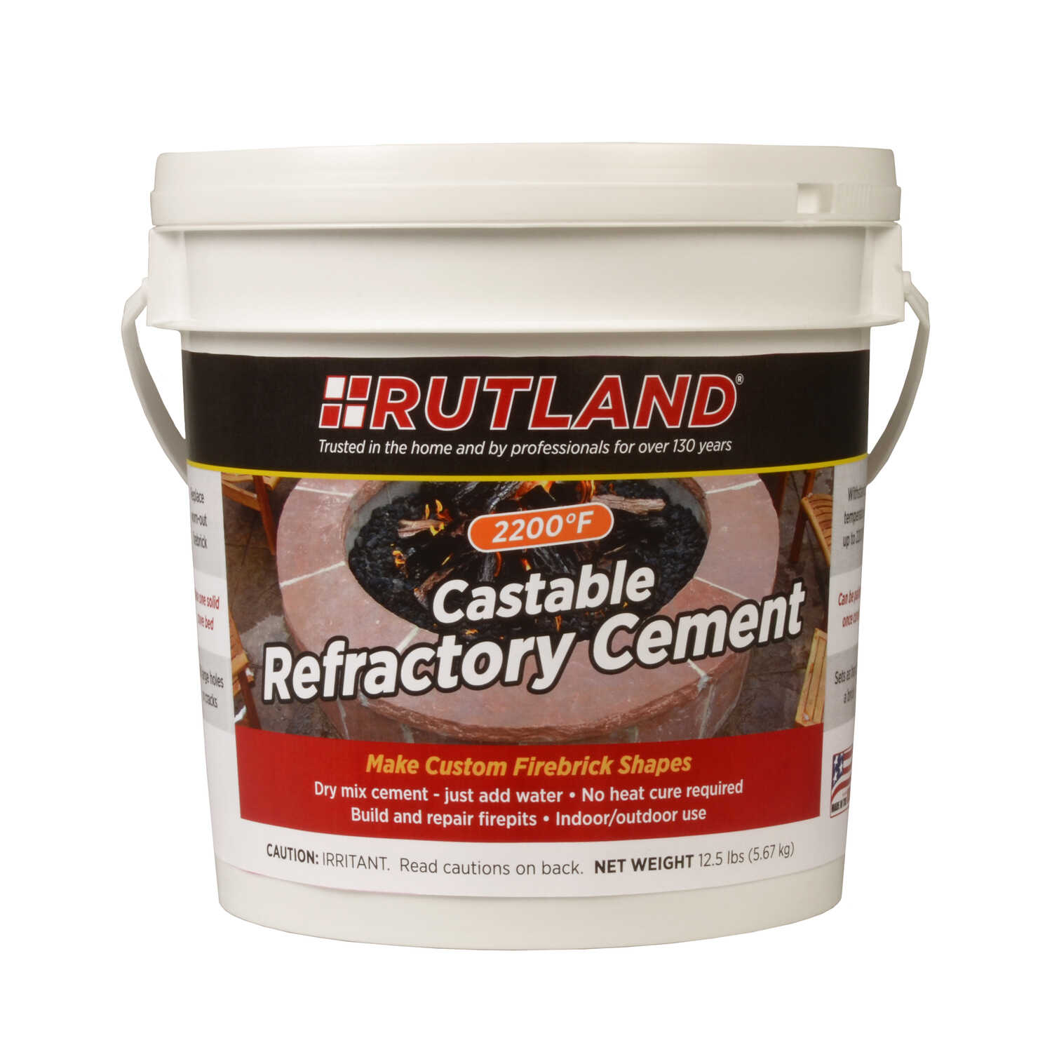 Rutland Refractory Cement - Ace Hardware