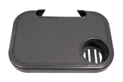Living Accents  Black  Plastic  Snap-On Side Tray