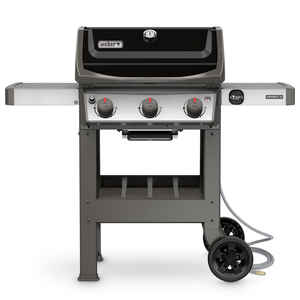Weber  Spirit II E-310  3 burners Natural Gas  Grill  Black  30000 BTU
