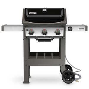 Weber  Spirit II E-310  3 burners Natural Gas  Black  Grill  30000 BTU