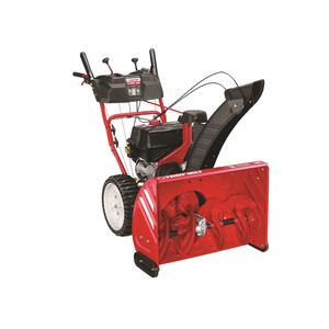 Troy-Bilt  Storm  28 in. W 243 cc Two-Stage  Pull and Electric Start  Gas  Snow Thrower