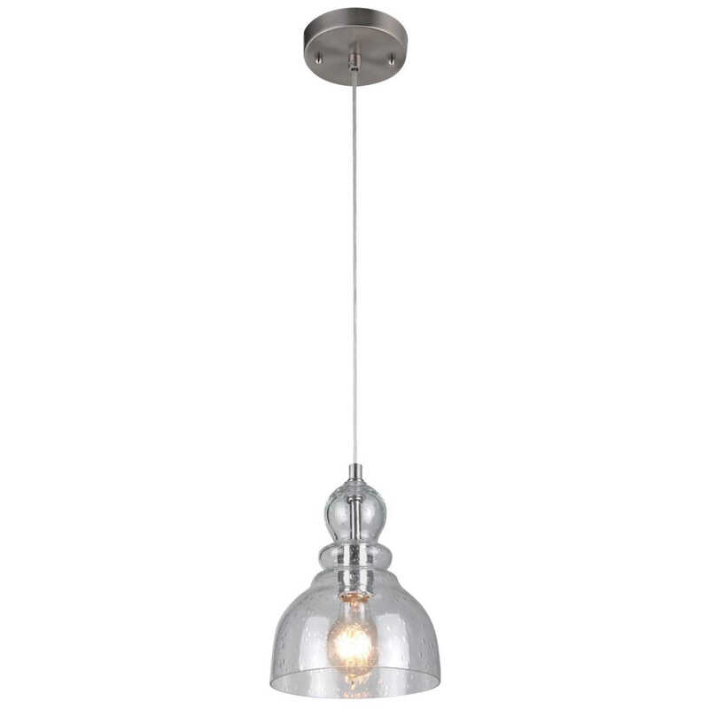 Westinghouse  DesignerYou  Brushed Nickel  1 lights Pendant Light