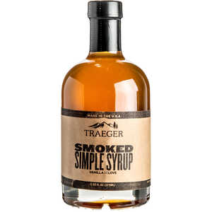 Traeger  Smoked Vanilla and Clove  Pure Syrup  12.68 oz. Bottle
