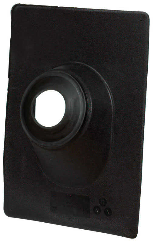 Oatey  No-Calk  15 in. H x 11 in. W x 15 in. L Thermoplastic  Black  Roof Flashing  Rectangle