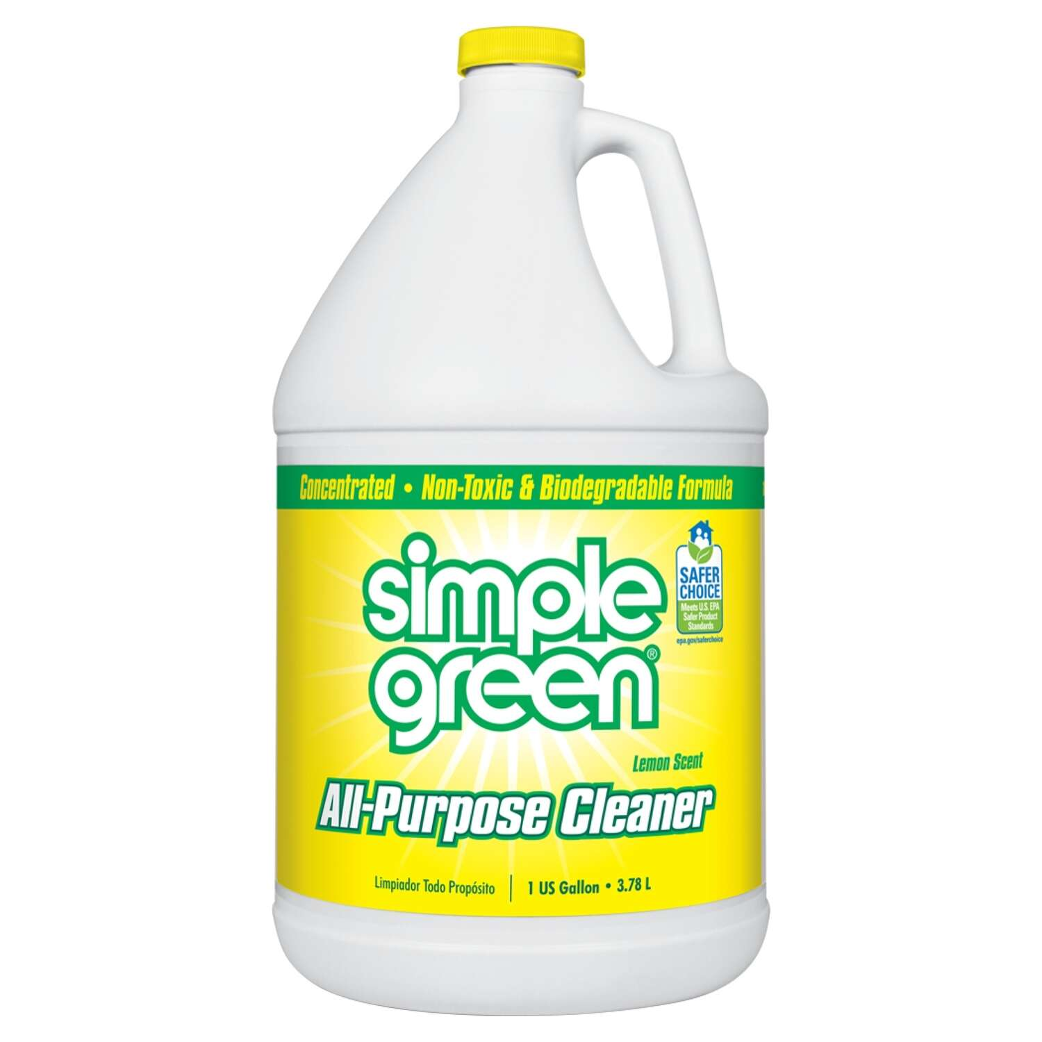 Simple Green  Lemon Scent Concentrated All Purpose Cleaner  Liquid  1 gal.