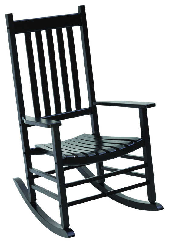 Jack-Post  Mission  Black  Wood  Knollwood  Rocker Chair