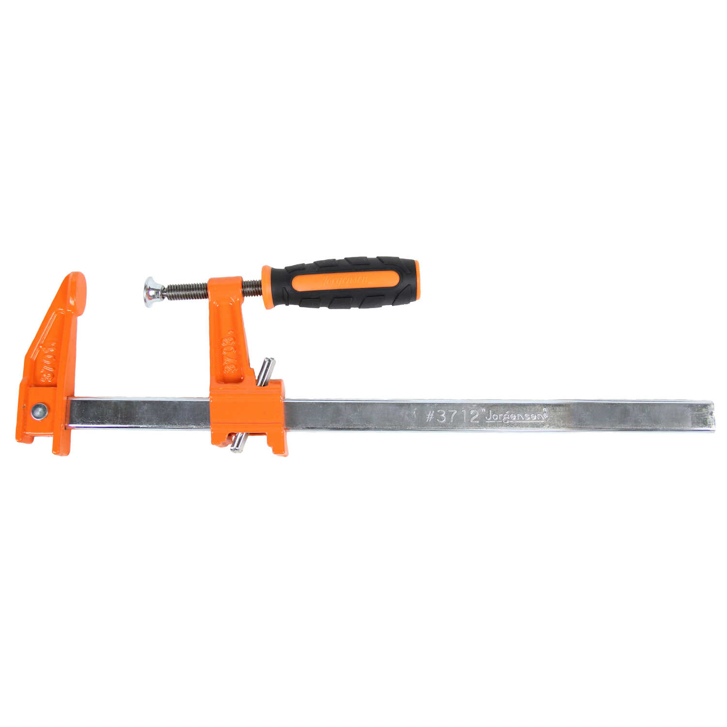 Bessey  18 in.  x 2-1/2 in. D Cast Iron/Steel  Bar Clamp  600 lb. 1 pc.