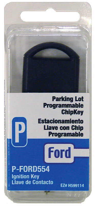 Hy-Ko  Automotive  Chipkey  EZ# H599114  Double sided For Ford Vehicles P-FORD5554