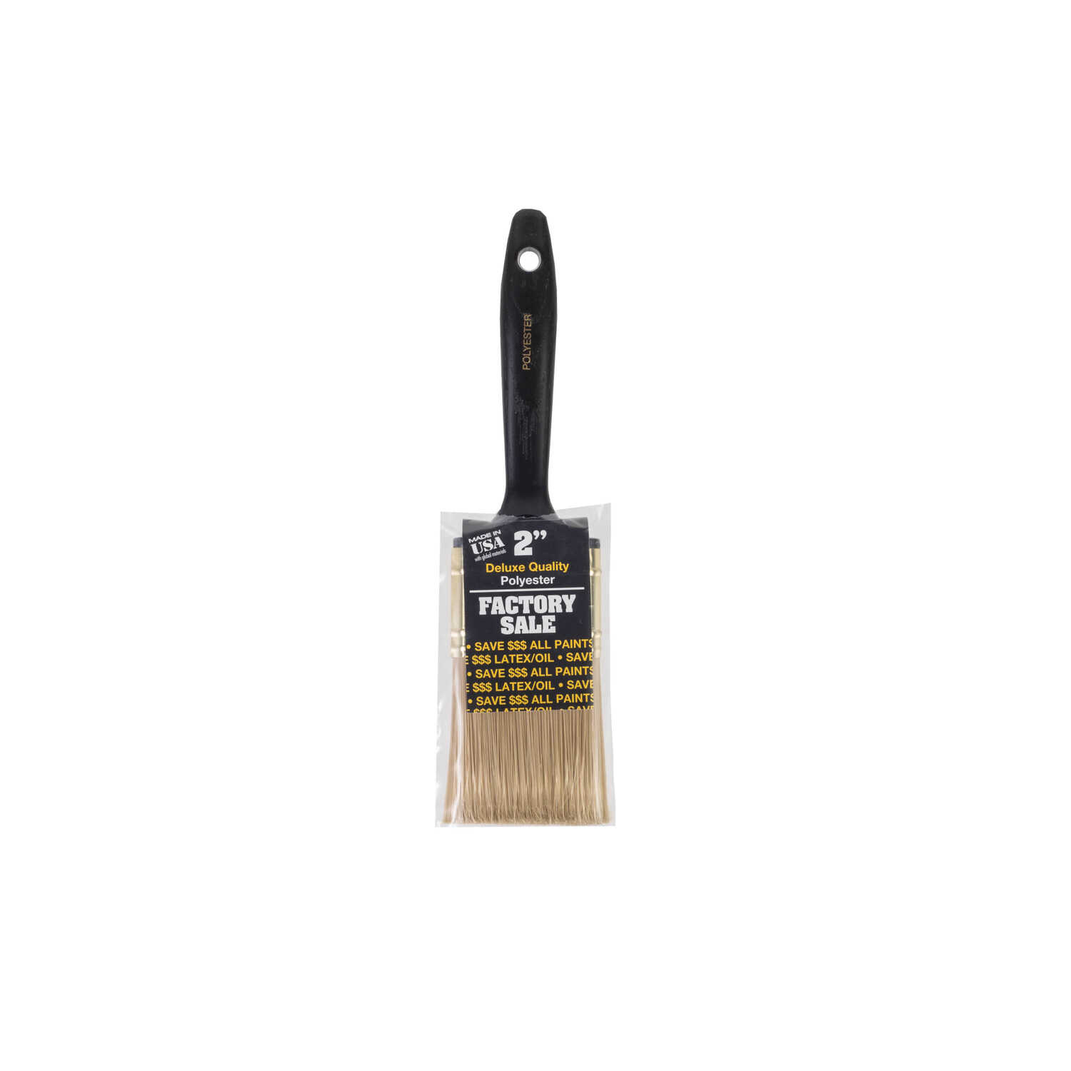 Wooster  2 in. W Flat  Polyester  Paint Brush